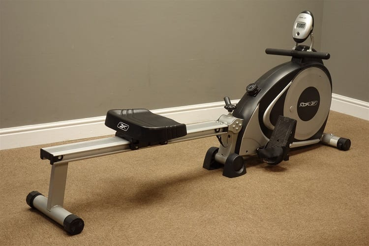 Rowing Machine In A Room