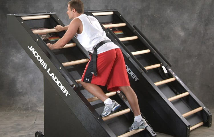 workout on jacob´s ladder