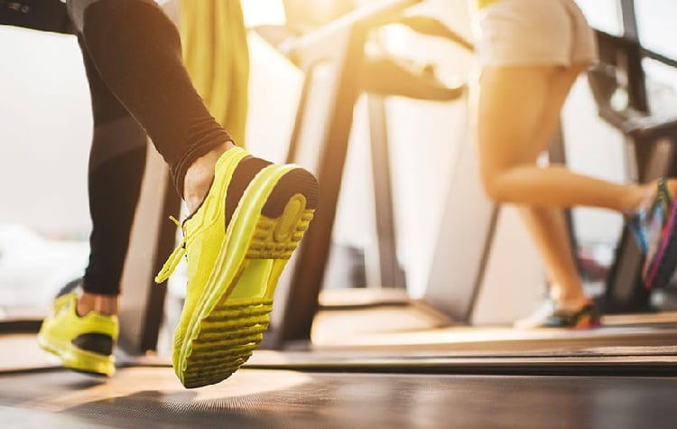 Running is most common way of cardio exercise